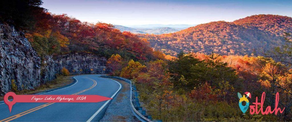 Finger Lakes Highways, USA
