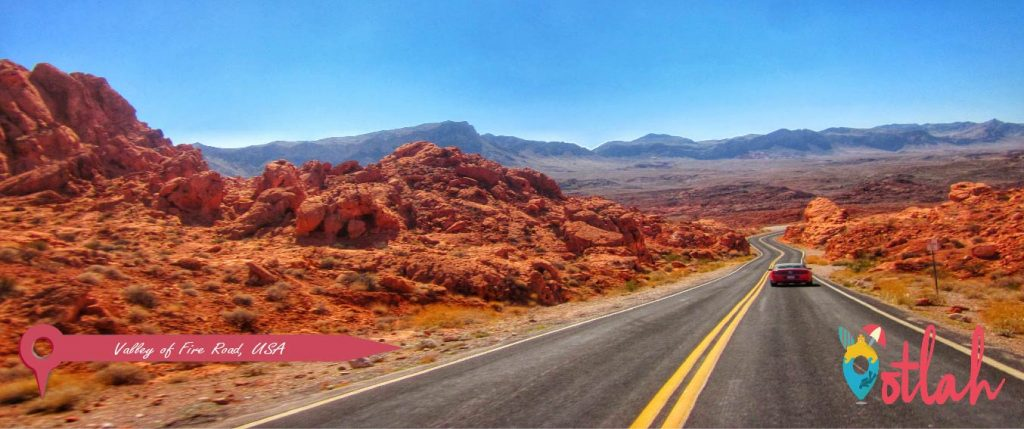 Valley of Fire Road, USA