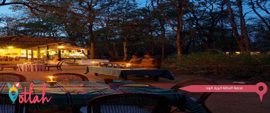 محمية المظلة البرية، الهند