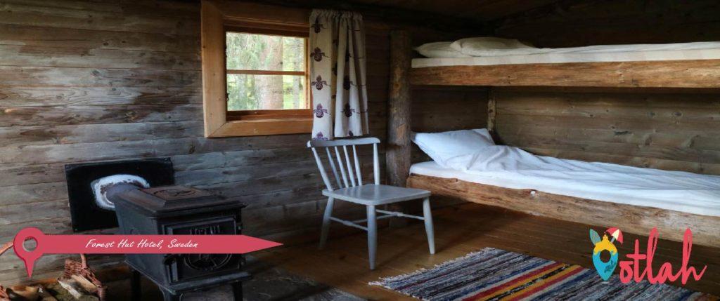 Forest Hut Hotel, Sweden