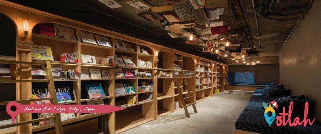 Book and Bed Tokyo, Tokyo, Japan