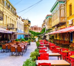 Cafes in Tiblisi