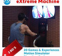 Enjoy a virtual reality with Extreme Machine