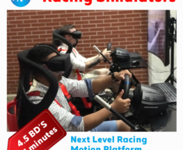 Live the most realistic racing simulation experience