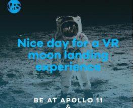 عش تجربة الهبوط على سطح القمر مع آلات الواقع الإفتراضي