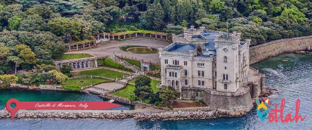 Castello di Miramare, Italy