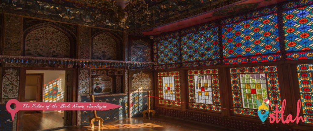 The Palace of the Sheki Khans, Azerbaijan