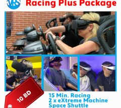 Thrilling VR Racing Experience