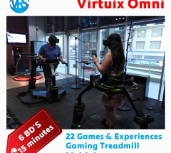 Amazing gaming experience with the Virtuix Omni
