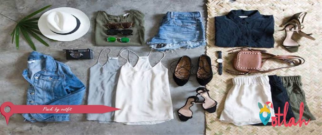 Pack by outfit