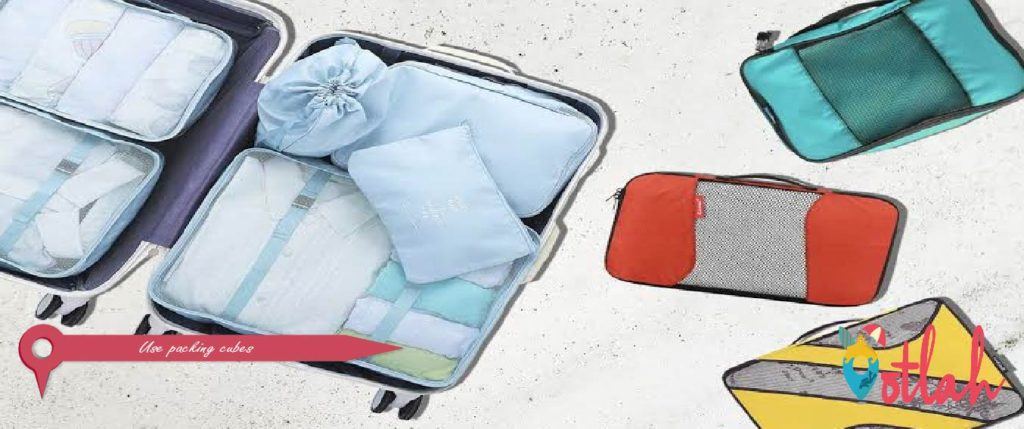 Use packing cubes