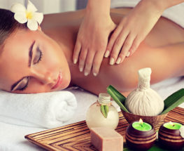 Relax with a special massage session