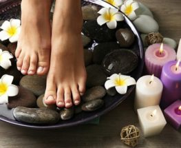 Pamper yourself with a wonderful pedicure session