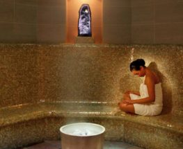 Improve your circulation with our steam bath