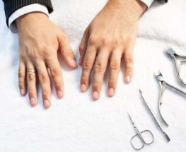 Get a Manicure treatment and get rid of all your hands' dirt