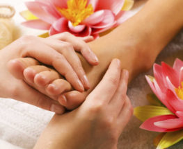 Get rid of your stress with our Foot massage