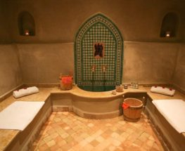 A unique moroccan bath