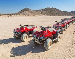 مغامرة ركوب الدراجات في شرم الشيخ