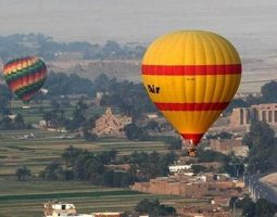 Experience a lifetime hot air balloon ride in Luxor