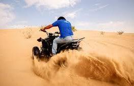 رحلة سفاري صحراوية للكثبان الرملية