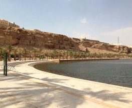 enjoy the beautiful nature in the Wadi Narmar Lake