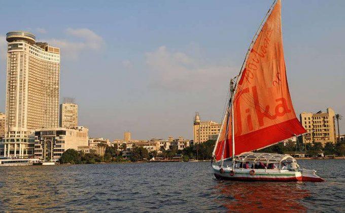 فلوكة فاخرة على النيل مع غداء