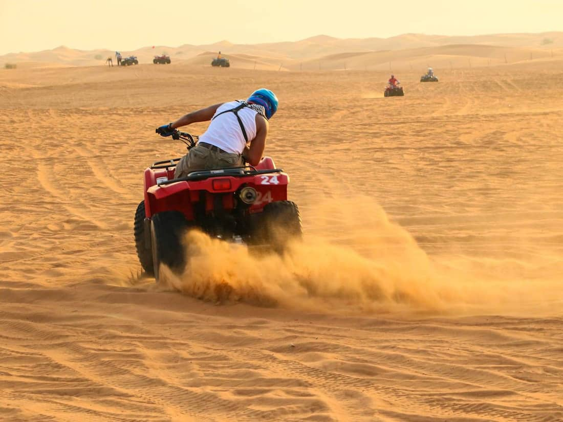 enjoy the safari desert experience in riyadh