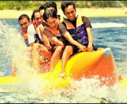 ركوب قارب الموزة (15 دقيقة)