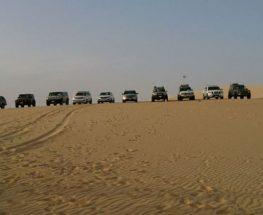 سفاري في الصحراء إلى بحيرة الأصفر