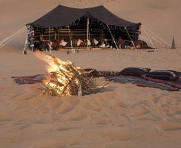 Bedouin Desert Camping in Dammam