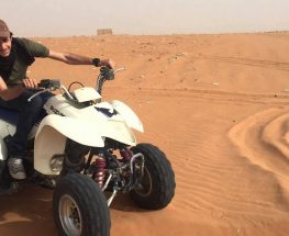 Discover the desert on your Quad bikes