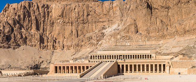 معبد حتشبسوت بالدير البحري