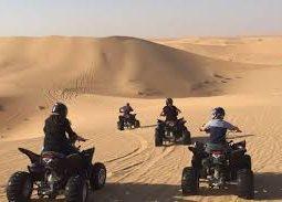 Quad bikes in the deserts of Qatar