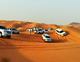 Venture out the thrills of the dunes in a Desert Safari