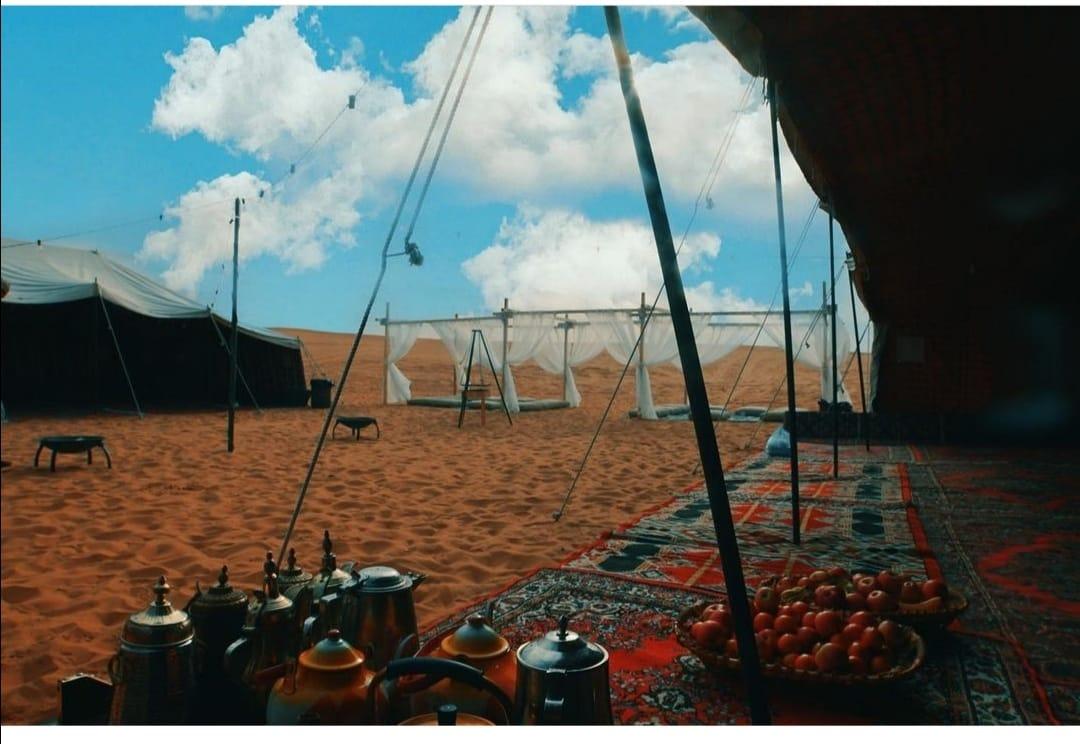 Camp in Al Ahsa
