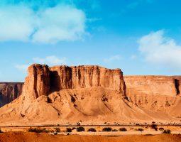 Enjoy hiking at AL Qiddiyah Summits