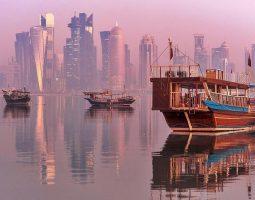 Take a sail on a traditional Qatari Dhow