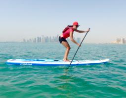 Kayak explore in Qatar