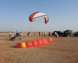 القفز بالمظلات والمشي لمسافات طويلة في الرياض