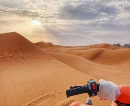 سفاري صحراوي بالدراجة الرباعية