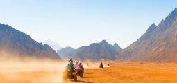 ركوب الدراجات الرباعية وركوب الجمال والعشاء البدوي - شرم الشيخ