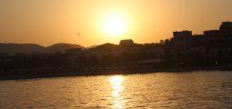 Sunset cruise trip