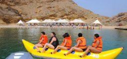 Excursion to  Bander Al Khayran Island