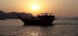 Watch the Sunset in a Dhow Cruise