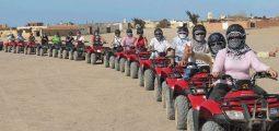 رحلات السفاري الرباعية في شرم الشيخ