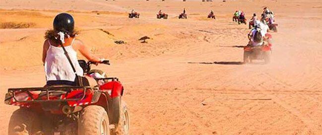 رحلات السفاري الصحراوية