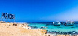 جزيرة الفردوس في الغردقة