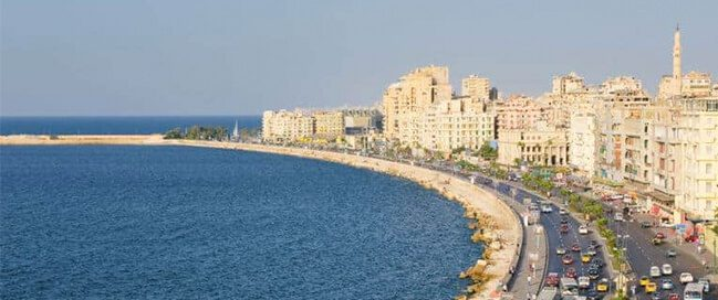 الإسكندرية… الشواطئ الخلابة