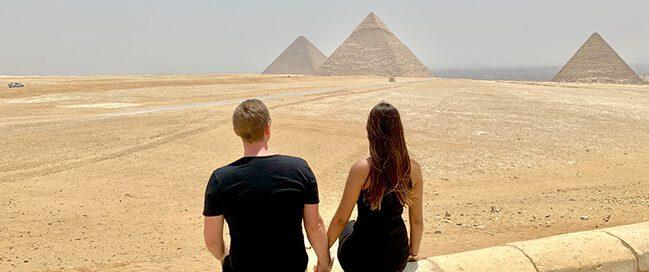 رحلات شهر العسل في مصر