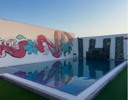 Rent and relax at this beautiful pool